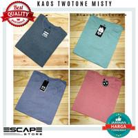 Kaos Polos Twotone Misty Premium Distro