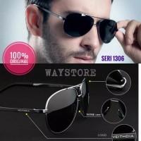kacamata hitam pria antisilau polarized UV400 original veithdia 1306