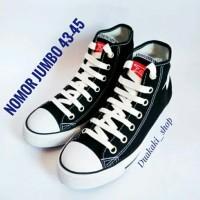Sepatu Sekolah Warior Dallas Campus Nomor Atau Ukuran JUMBO 43 44 45
