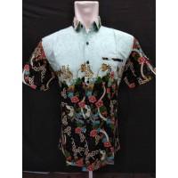 Baju Batik Pria Murah Motif Zaman Now Jahitan Halusan Ukuran S - XXL