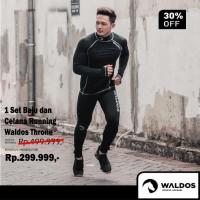 1 Set Sports Gear Baju Dan Celana Running Waldos Throne
