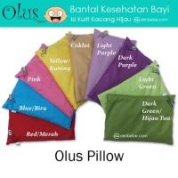 Olus Pillow - Bantal Kesehatan Bayi (Isi Kulit Kacang Hijau)