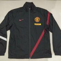 Jaket Manchester United Original Nike / Windbreaker Sir Alex Ferguson