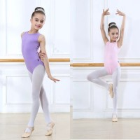 Baju Balet Ballet Senam Anak Warna Kids Leotard Tank O Neck Colors