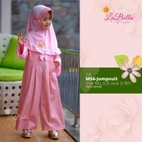 Labella Baju Jumpsuit Muslim Anak Perempuan Seri MS6 - Jumpsuit