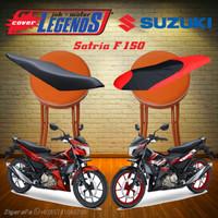 Cover Jok SATRIA F150 Waterproof Sarung Mantel Jok Aksesoris Motor FU