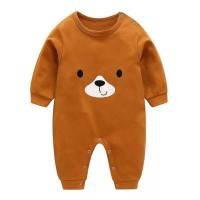romper bayi beruang coklat lucu