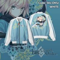 Jaket Sukajan Anime / Game Fate Grand Order Okita Souji