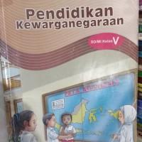 Buku Pendidikan Kewarganegaraan Sd Mi kls kelas 5 V bse Pkn sd
