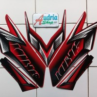 Stiker Striping Motor Yamaha Rx King 2008 Merah
