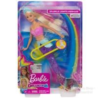 Boneka Barbie Mattel Dreamtopia Sparkle Lights Mermaid Putri Duyung