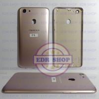Casing Oppo F5 F 5 Kesing Backdoor Tutup Batre Cover Belakang Ori Gold