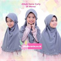 Jilbab Anak Vania Curly Lamia Mawadah All Size Untuk Usia 4-8 Tahun