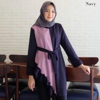 TERBARU Baju Atasan Wanita Tunik Busana Muslim Trendy Kekinian 2019