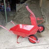 Gerobak sorong merah/ gerobak pasir/ model artco/ gerobak maxi/ HSG