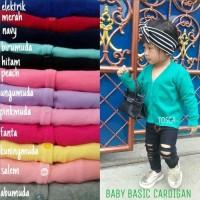 Hot Sale! BABY BASIC CARDIGAN BAJU CARDIGAN RAJUT ANAK