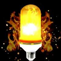Lampu led api led fire flame lampu led dekorasi 9w 9 watt