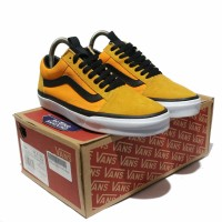 Sepatu Vans Old Skool The North face TNF Yellow Black DT Premium BNIB