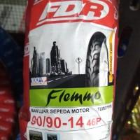 Ban Motor Matic Merk FDR, Ukuran 90/90-14 Flemmo Tubetype