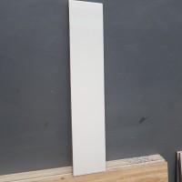 Plint Keramik Putih Polos 10x50 cm