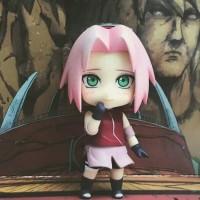 Action Figure Nendroid Anime Naruto Special Haruno Sakuro Sennin Mode