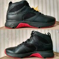 sepatu basket piero commander black P60149 original .
