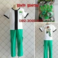 HOT SALE Baju Kostum Anak Karakter Superhero BEN10 BENTEN BEN 10 2-5
