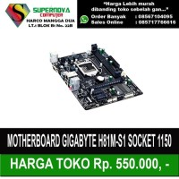 Motherboard Gigabyte H81M-S1 SOCKET 1150