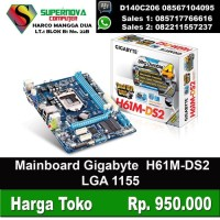 Mainboard Intel Gigabyte GA-H61M-DS2 Socket 1155