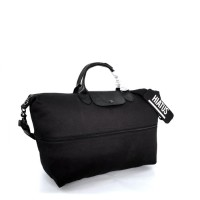 Longchamp By Shayne Oliver Expandable Travel Bag - Black