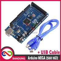 [CNC] ARDUINO MEGA 2560 R3 ATMEGA 16U2 COMPATIBLE BOARD + USB CABLE