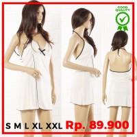 S M L XL XXL XXXL Sexy Lingerie Big Plus Size Baju Tidur Jumbo M6B