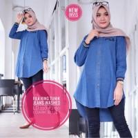 baju wanita blouse tunik fila ring jeans muslim modern unik lucu