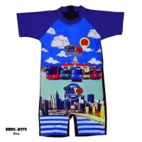 Baju Renang Diving Anak Usia 3-7 th Karakter Tayo BRDL-K078TK