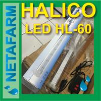 Lampu LED Hidroponik Terarium Aquarium Aquascape - HALICO HL 60