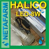 Lampu LED Hidroponik Terarium Aquarium Aquascape - HALICO LED 8W