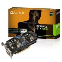 GALAX Geforce GTX 1050 Ti EXOC EXTREME OVERCLOCK 4GB DDR5 Dual Fan