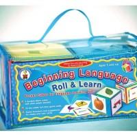 Language Roll Learn Mainan edukasi anak belajar bahasa Inggris game