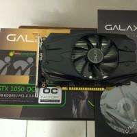Galax Geforce GTX 1050 2GB DDR5 OC - Single Fan