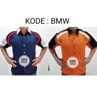 Seragam Kombinasi Kemeja Baju Kerja Drill Baju PDH DC EP04 YT BMW