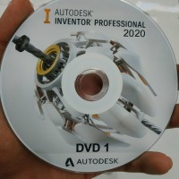 Autodesk Inventor Pro 2020 plus Tutorial Dasar sampai Mahir