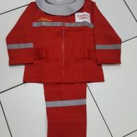 jendral anak pemadam uk 3-4|Baju Pemadam Anak Usia 3-4tahun|Pemadam