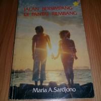 novel jalan bersimpang di pantai rimbang karya maria a sardjono