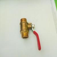 Ball valve / Kran 3/8 drat luar kuningan high quality