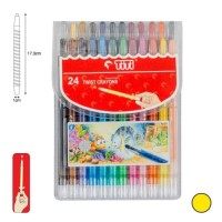 Crayon Putar Titi 24 Warna Twist Krayon