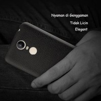Xiaomi Redmi Note 4 Backcase Leather Texture Alivo Back Cover Softc