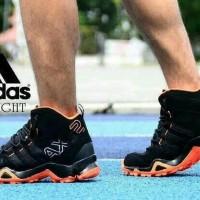 promo Sepatu Adidas AX2 High Black Blue Man Import Vietnam Premium