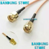 pigtail dual router modem huawei 4G bolt B310, B315