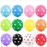 Balon PolkaDot 12inc
