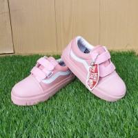 sepatu anak perempuan vans oldskool pink||fashion sport anak